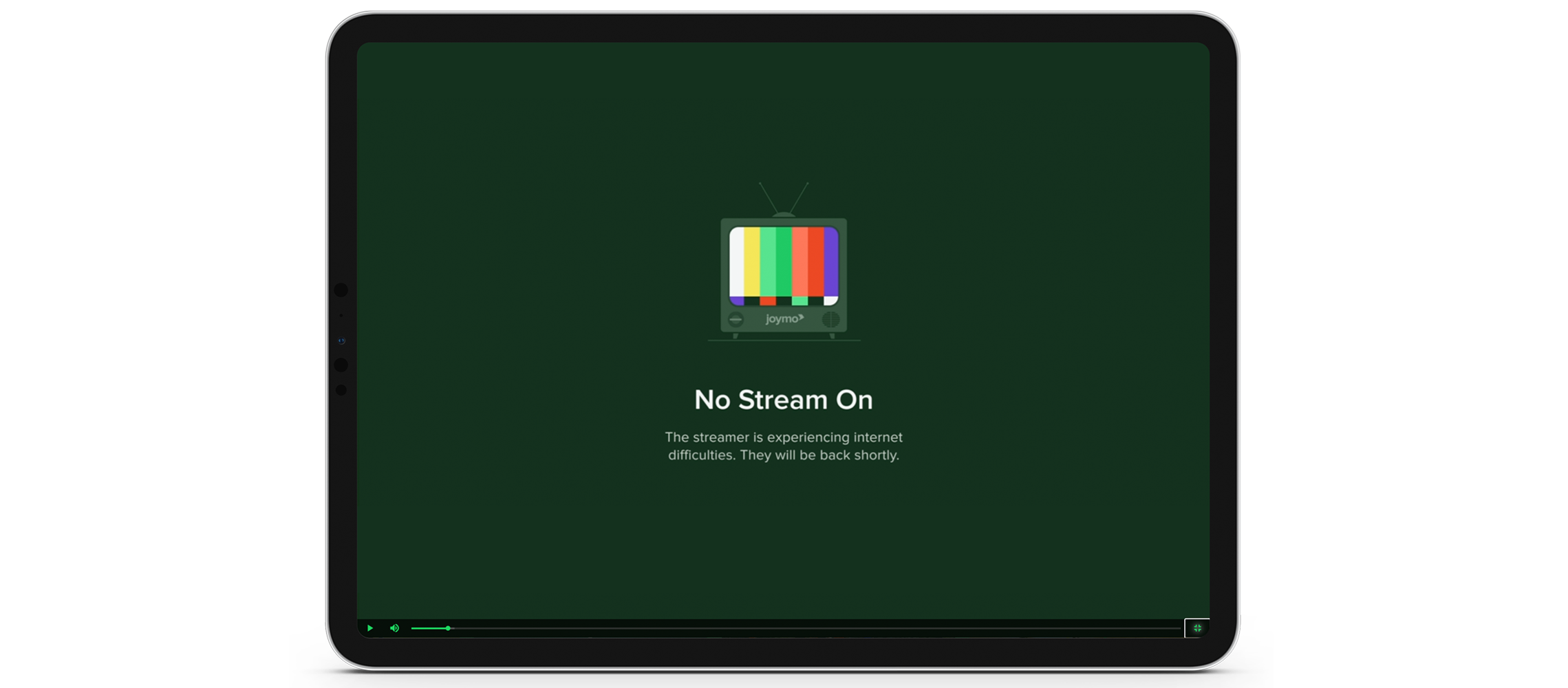 Streaming difficulties blog