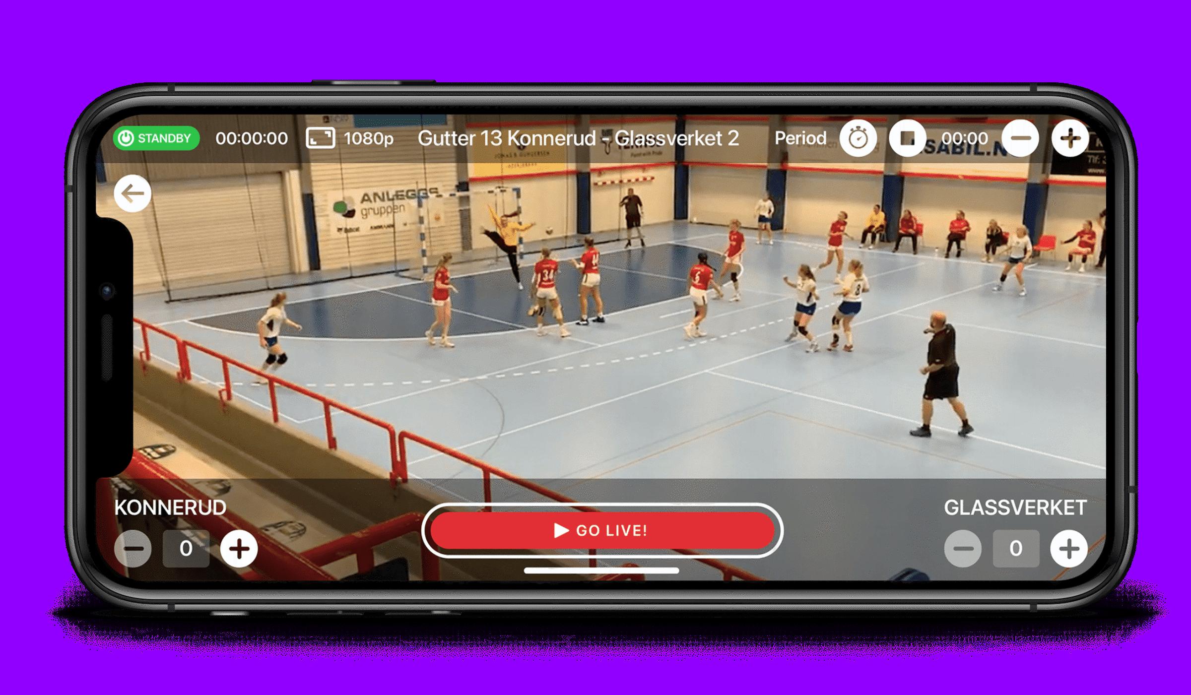 1 app screenshot handball 1