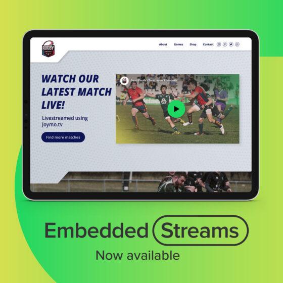 IG embed streams