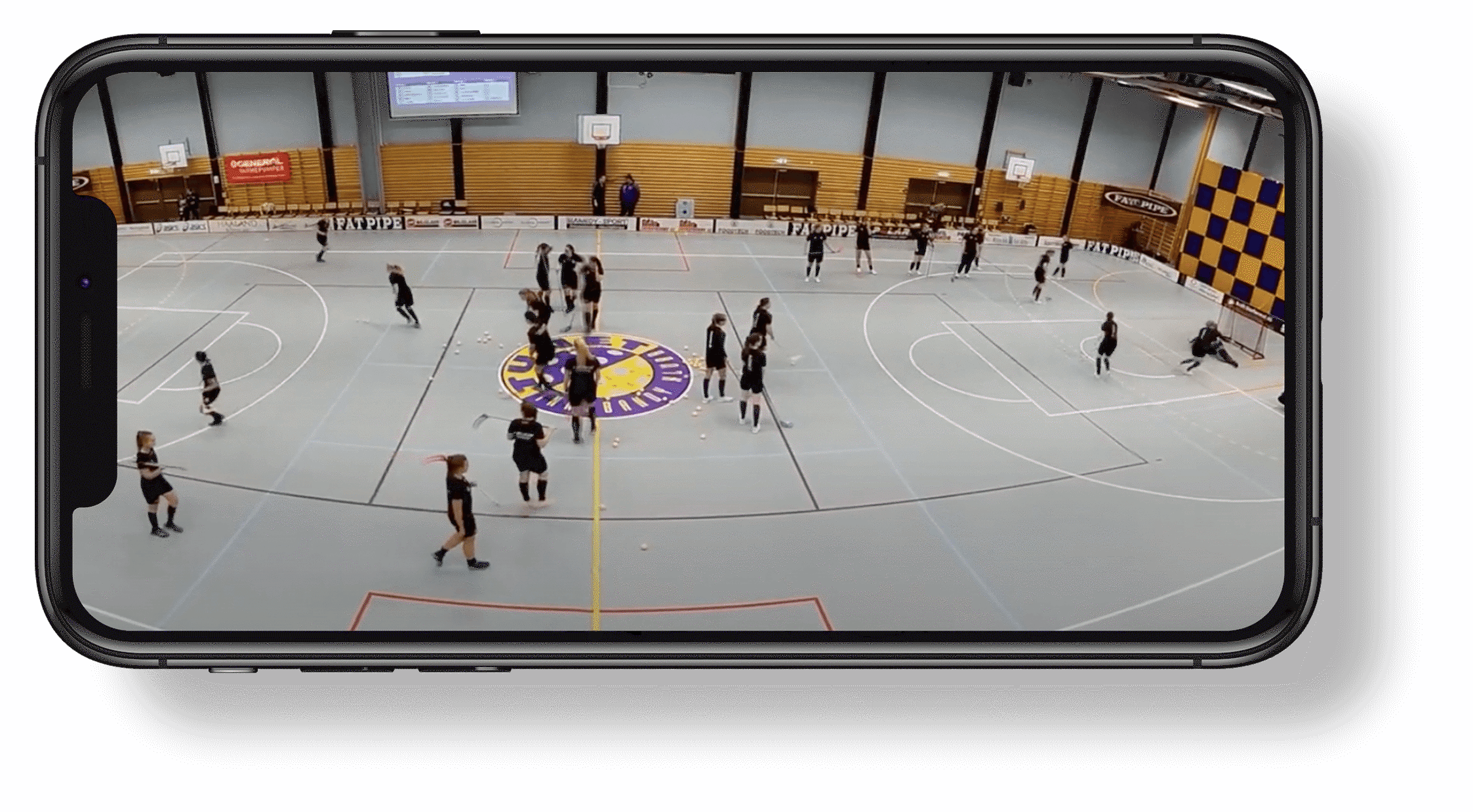 3 video stream shadow floorball