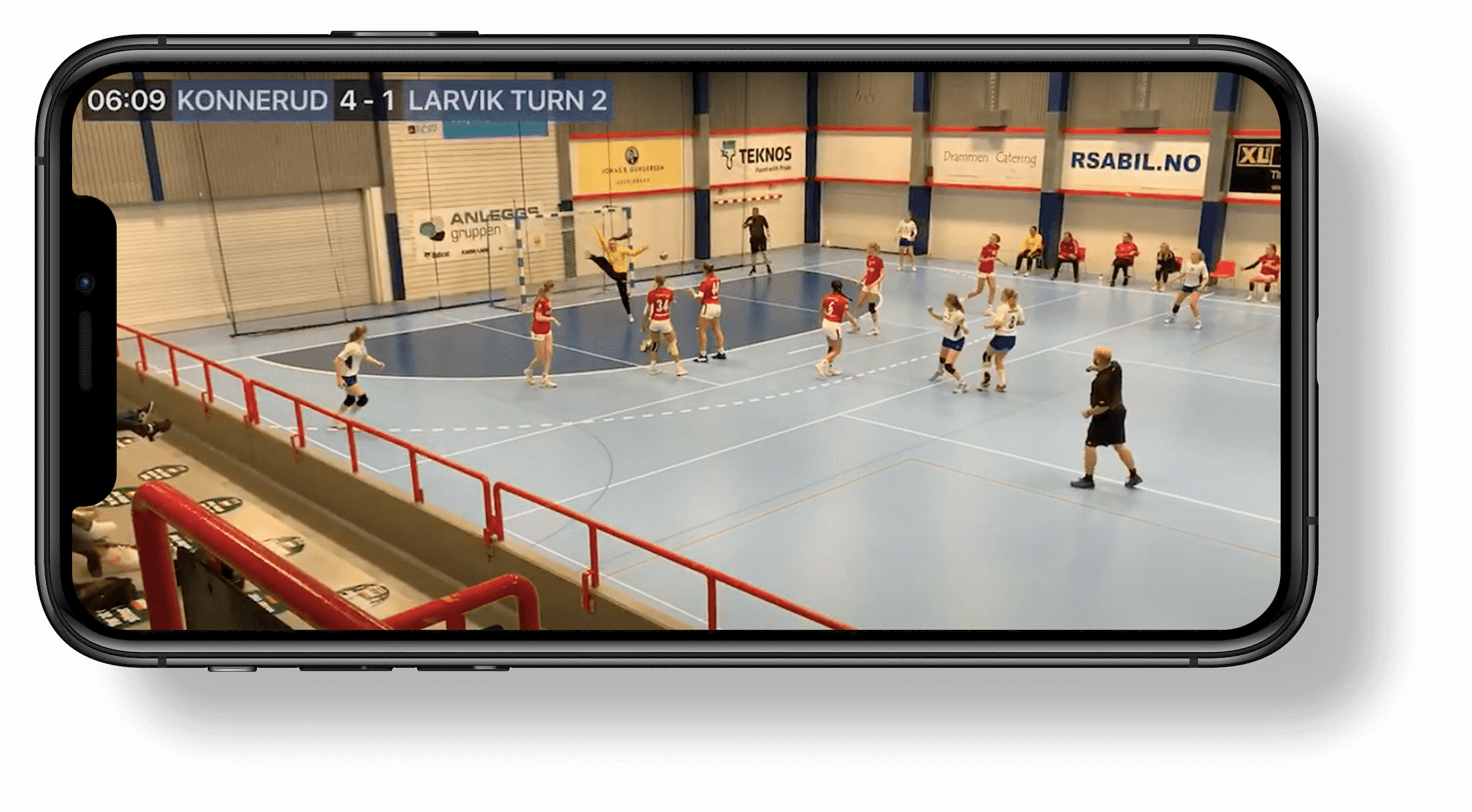 2 app screenshot handball